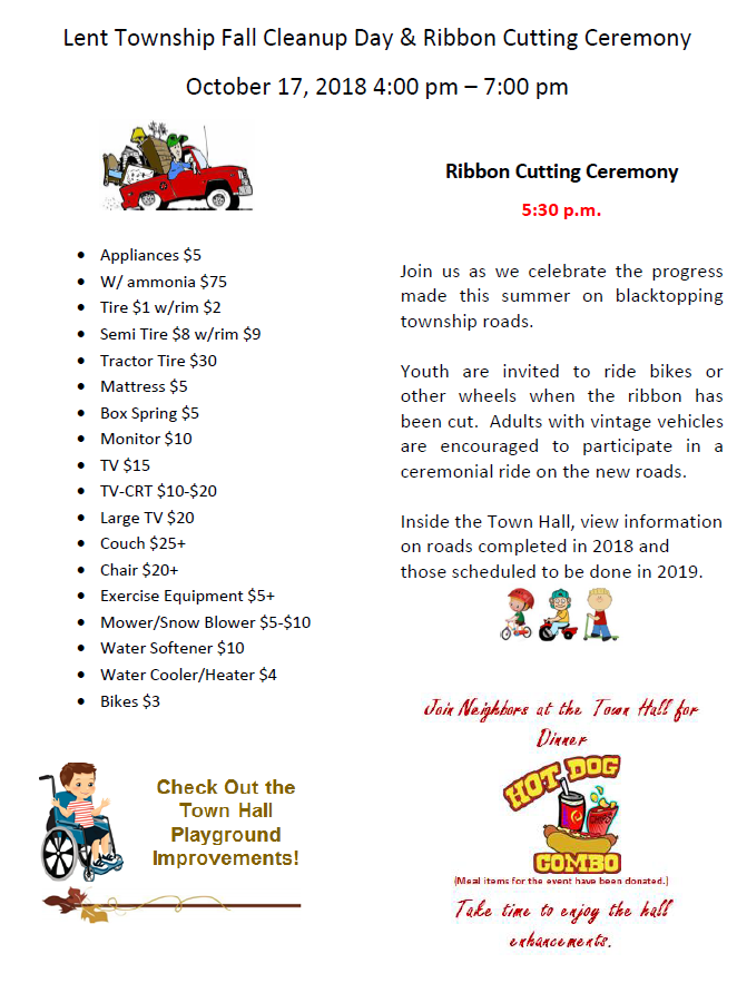 Fall Cleanup Day & Ribbon Cutting