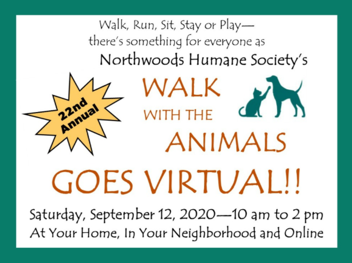 Virtual! Northwoods Walk with the Animals